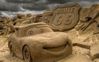 песочное искусство