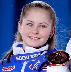 Фигуристка Юлия Липницкая