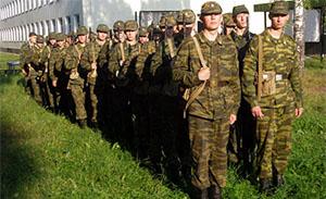 Солдаты - защитники Родины