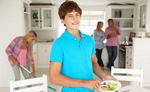 Подростки - помогают родителям