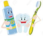 Механическая регулярная чистка зубов
