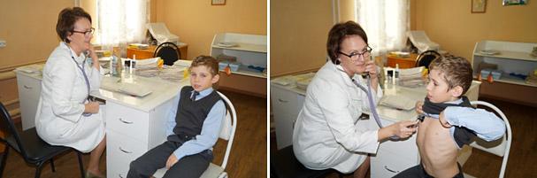 Беседа с детским врачем Костяковой А.И.