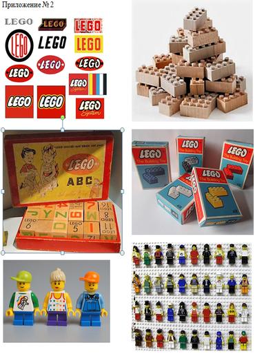 виды лего