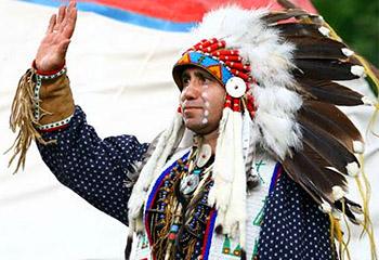 приветствие индейцев