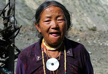 приветствие тибетцев