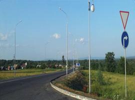 Вид на деревню Тикеево