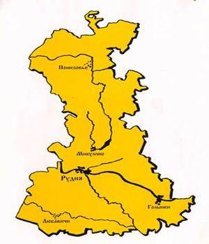 карта Рудни