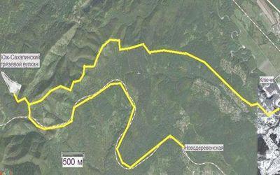 сахалинские грязевые вулканы 4