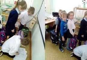 Взвешивание школьного портфеля