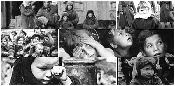 Дети сироты в военный и послевоенный период