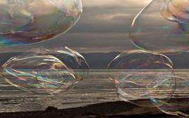 Искажение формы шара воздушными потоками