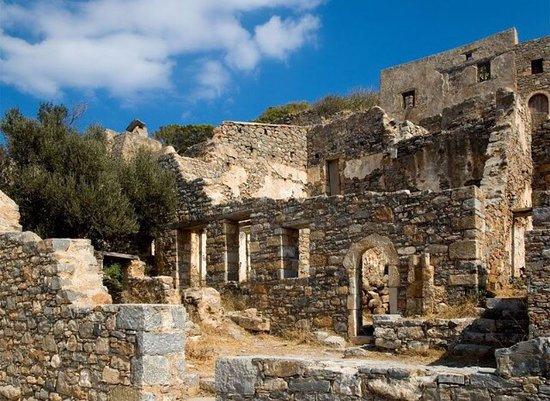 спиналого призрак в греции