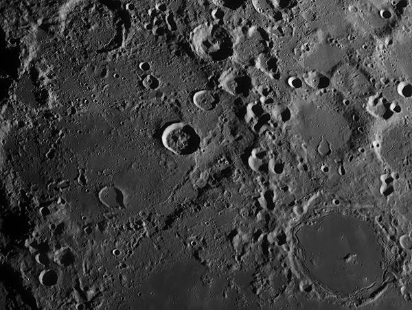 Рельеф (поверхность) Луны