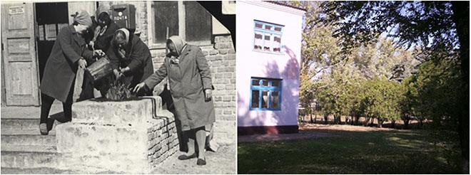 Старое здание почты с. Виноградное