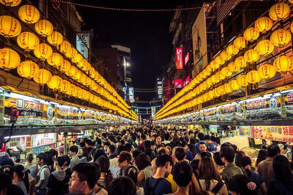 Ночной рынок Тайвань