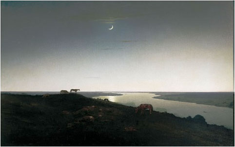 Картина А. Куинджи