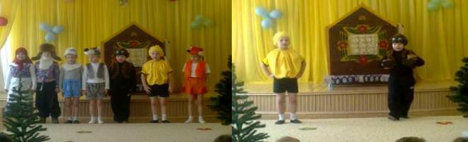 Театр в детском саду - проект