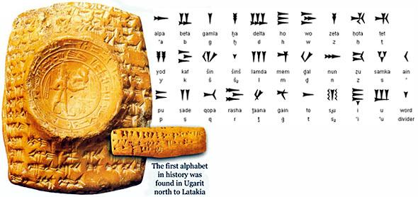 Угаритский клинописный алфавит