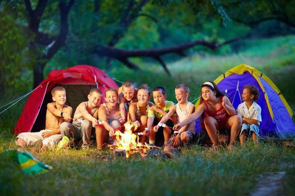 Туристический лагерь для детей