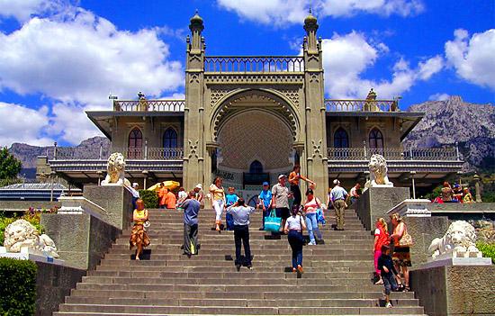 Южный фасад Воронцовского дворца