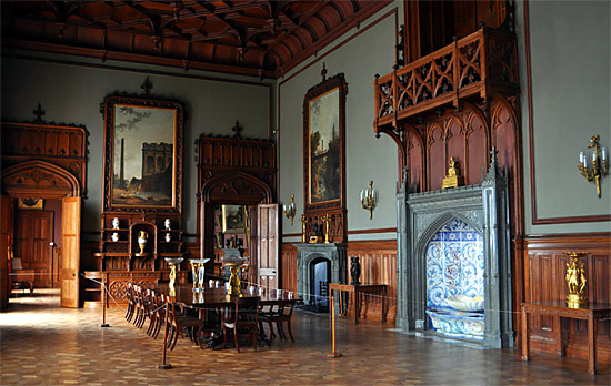 Зал Воронцовского дворца в Крыму