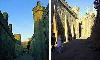 Улочки и башни Воронцовского дворца