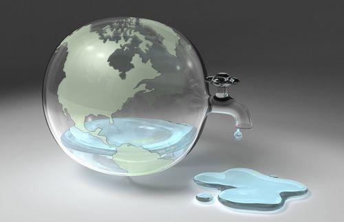 Запасы воды уменьшаются