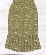 коническая юбка 1