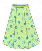 коническая юбка 3