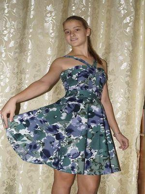 коническая юбка 9