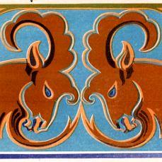 Зооморфные мотивы в бурятских орнаментах